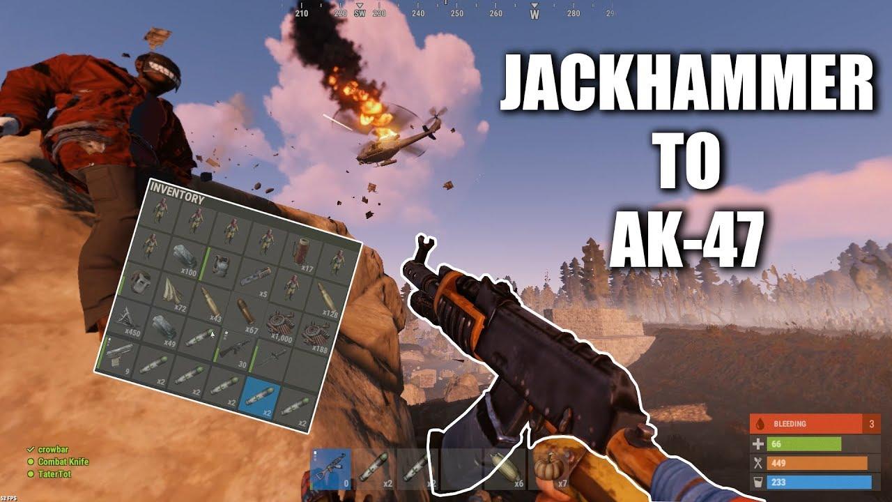 Rust Jackhammer