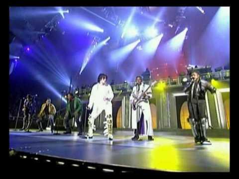 Michael Jackson & The Jacksons live 2001 30th anniversary concert