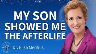 Dr. Elisa Medhus on talking to her son in The Afterlife