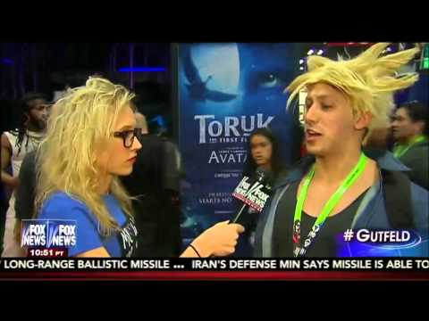 10-11-15 Kat Timpf on Gutfeld - Millennials Crash NY Comic Con