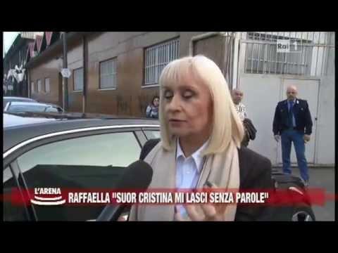 Raffaella Carrà parla di Suor Cristina. Intervista