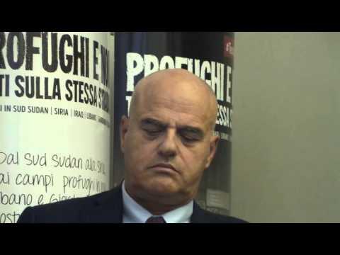 Immagini: L'ad di Eni, Claudio Descalzi, ospite all'AVSI
