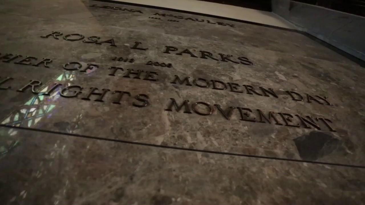 The Gravesite Of Rosa Parks Youtube