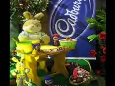 Visual Jade EASTER Cadbury promotion with hired animated Bunny