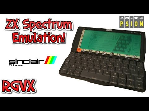 ZX Spectrum Games On A Psion 5 PDA ! ( Sinclair IV Emulator )