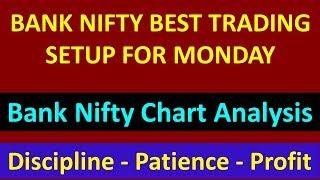 BANK NIFTY BEST TRADING SETUP FOR MONDAY !! Bank Nifty Chart Analysis !! GHANSHYAMTECH