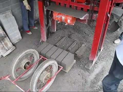 Máy ép gạch block,gạch không lung,gạch bê tông, gạch xi măng