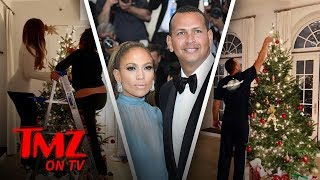 JLo and A-Rod's Christmas Tree Is Underwhelming | TMZ TV