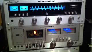 Maranrz 2225 Receiver And Marantz 5010 Stereo Cassette Deck (vintage Marantz Collection)
