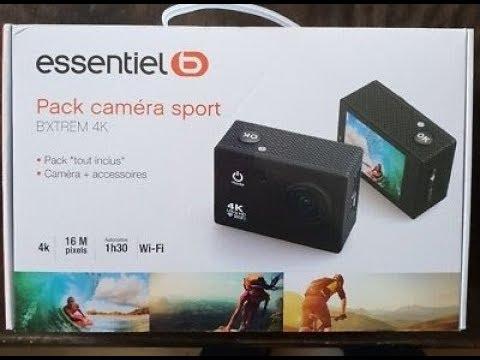 Carte Xbox Live Boulanger.Camera Sport B Xtrem 4k Essentielb