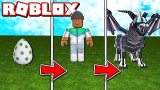 *NEW* TRANSFORMING INTO A KILLER DRAGON IN ROBLOX