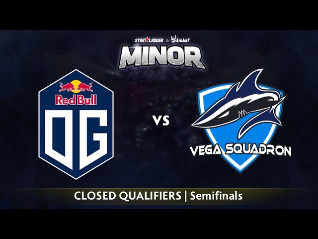 OG vs Vega Game 1 - StarLadder ImbaTV EU Qualifier: Semifinals