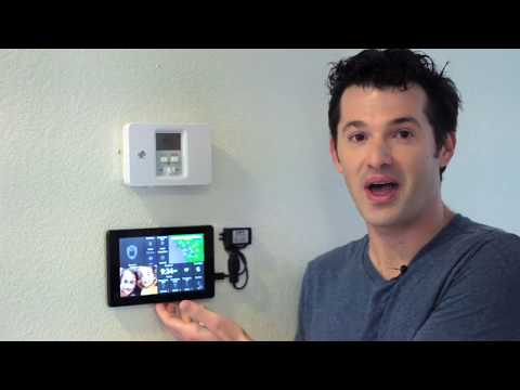 Replace your alarm system keypad with an ActionTiles touch-screen tablet — Konnected DIY add-on