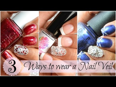 3 Ways To Wear A Nail Veil