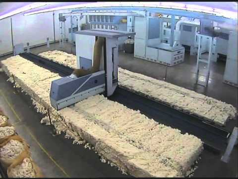 `Cotton Spinning Mill - Automatic Bale Opener Fire