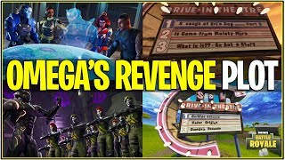 "*NEW* Fortnite: ""OMEGA'S REVENGE"" LEAKED SEASON 4 STORY LINE! 