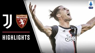 Juventus 4 1 Torino | Ronaldo Nets First Serie A Free Kick In Derby Win! | Serie A Highlights