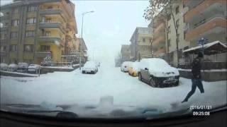 Ankara Kar Altında 21.01.2016