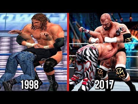 The Evolution Of Triple H Pedigree ( WWF War Zone To WWE 2K18 )