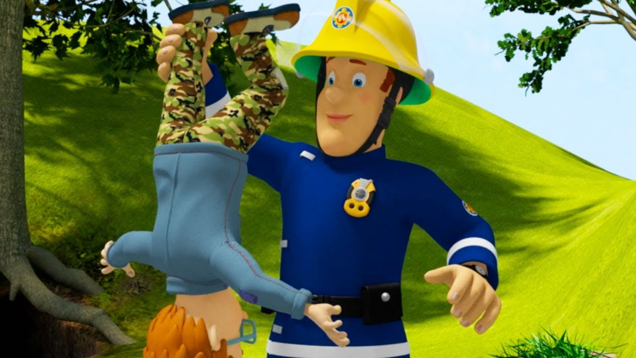 Brandweerman Sam Garage : Brandweerman sam nederlands dubbel gevaar beste van