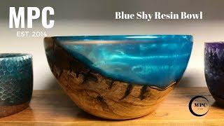 Blue Sky Resin Bowl