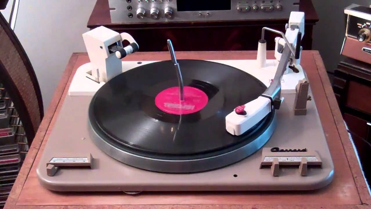 Record Turntable 1961 Garrard Type A Turntable .. Heathkit Aa 100 Amp .. My