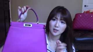 FENDI PEEKABOO MAGENTA MEDIUM REVEAL