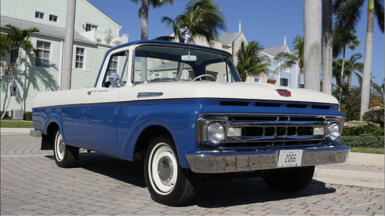 1961 ford f100 for sale youtube. Black Bedroom Furniture Sets. Home Design Ideas