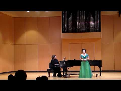 """【Soprano Lily Zhang】""""An Evening of Global Music """" Solo Recital """"Panisan gelicus"""" Piano by Sarah Sena"""