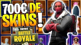 ALL MES SKINS on Fortnite Battle Royale! (700) 2/2