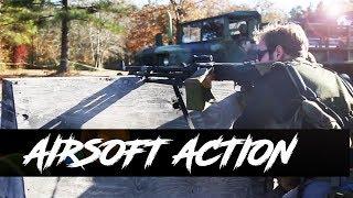 Sunday Airsoft Action at Ballahack