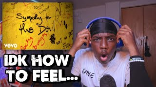Teen Listens To THE ROLLING STONES - Sympathy For The Devil (REACTION!!)