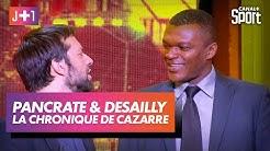 Julien Cazarre avec Fabrice Pancrate... et Marcel Desailly !