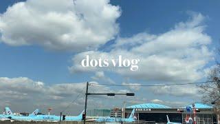 dots vlog | 공항출퇴근길 / 조카백일선물 / …