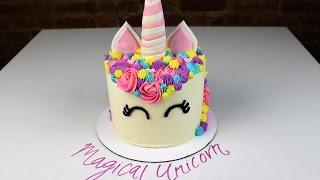 Magical Unicorn Cake I CHELSWEETS
