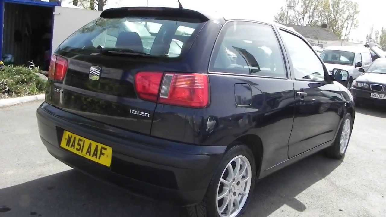 seat ibiza 1 4 chill 2001 youtube. Black Bedroom Furniture Sets. Home Design Ideas