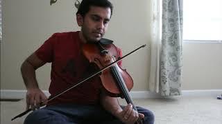 Naalo Chilipi Kala | Violin Bit |  LOVER  | Notes in the description