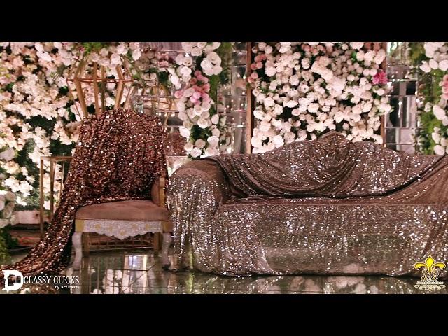 Grand Wedding Reception decor ideas in Pakistan | Most Luxurious Reception Decor in Lahore Pakistan