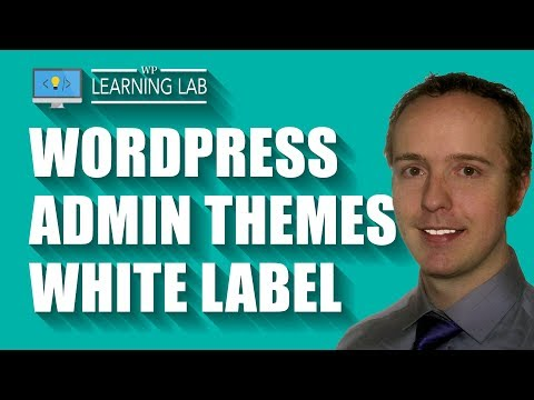 A WordPress Admin Theme or Admin Template Lets You White Label The WP Admin Dashboard