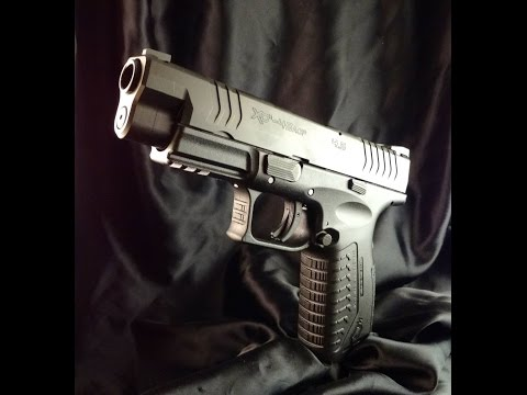 SPRINGFIELD XDM 4.5 GUN REVIEW