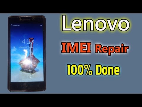 How To Fix Lenovo IMEI Null All MTK Android Without Pc