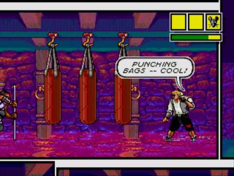 Let's Play Comix Zone: Foo Fang Fung Fow Kow Kung ...