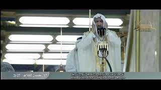 مرئيًا نداء صلاة القيام للمؤذن إياد بن أحمد شكري ( حفظه الله ) 1440 هـ