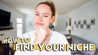 HOW TO NARROW DOWN YOUR NICHE TO GROW ON YOUTUBE: What's a niche & how to find your niche on YouTube