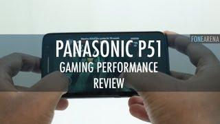 Panasonic P51 Gaming Performance Review