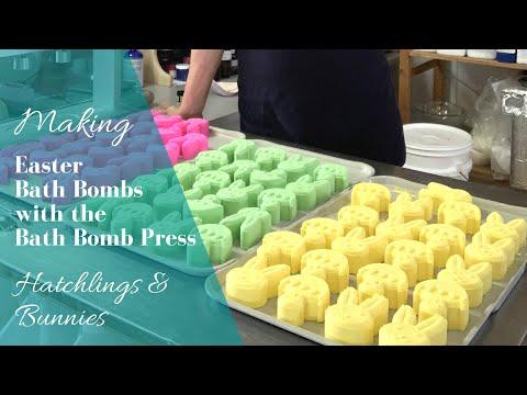 Making Easter Bath Bombs | Hatchlings & Bunnies