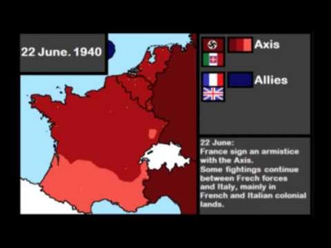 Axis invasion of France and the Low Countries: Every Day (WWII)