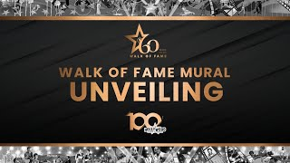 Walk of Fame Mural Unveiling