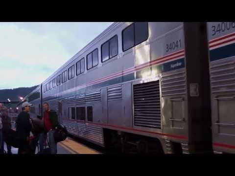 Amtrak Ride 2011 - Empire Builder At Whitefish, MT 10/11/11