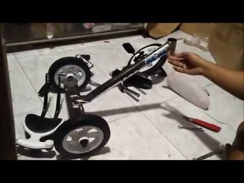 video tutorial perakitan sepeda roda tiga yoe yoe